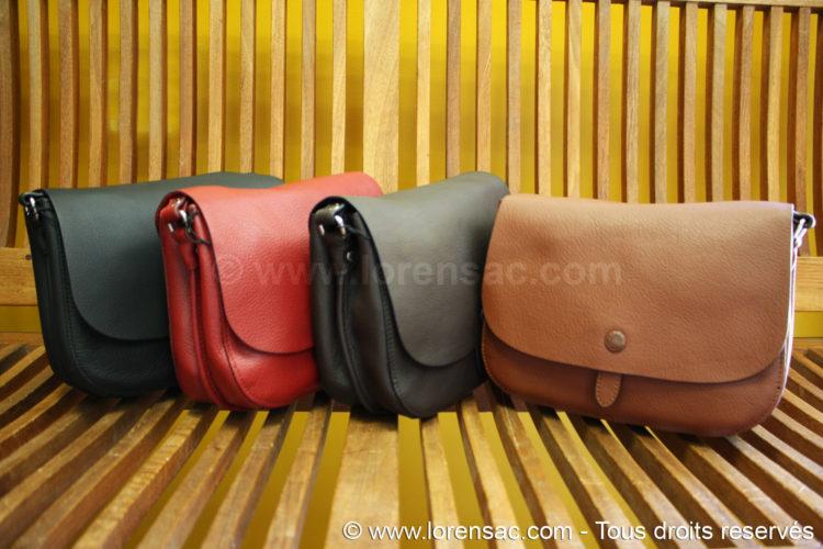 4 sac Katana un marron un chocolat un rouge et un noir