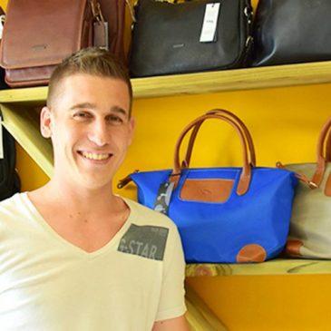 Des sacs, des portefeuilles, des sacoches… Chez Laurent ou en ligne!