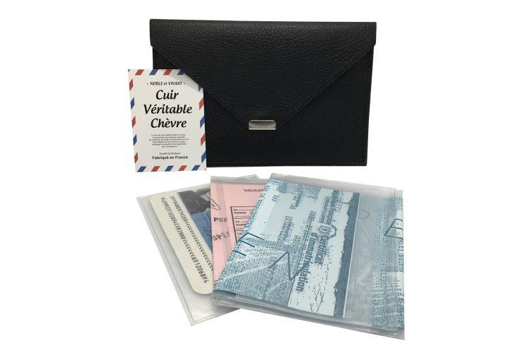 porte document noir pour papier de véhicule